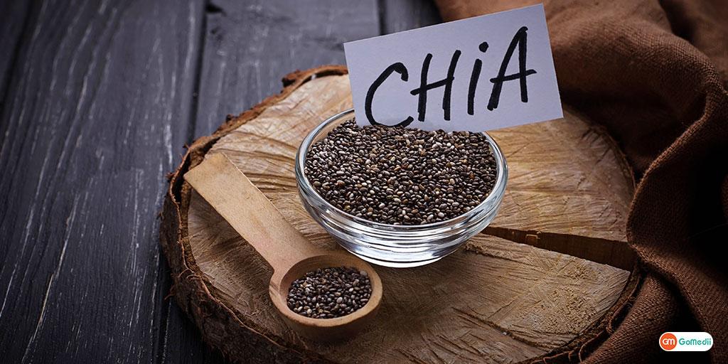 Motape se rakhe door or vitamin se bharpur hai Chia Seed's